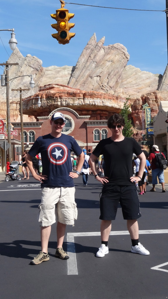 Greg & Orlindo in Radiator Springs